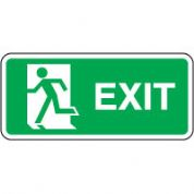 Safe Safety Sign - Exit Left 082